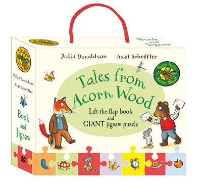Book cover for Tales from Acorn Wood Book and Jigsaw...
